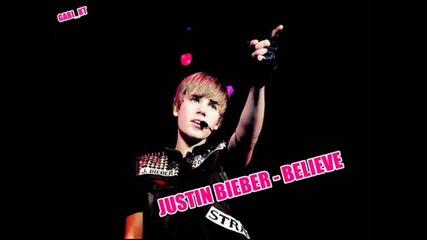 Justin Bieber - Believe ( нереализирана )