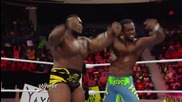 Big E vs. Cesaro: Raw, July 14, 2014