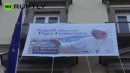 Italy: Bare-breasted nun advert removed before Pope Francis' Naples visit