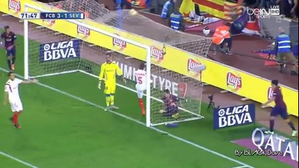 Барселона 5:1 Севиля 22.11.2014