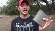 Може ли да се пробие парче титан с оръжие?