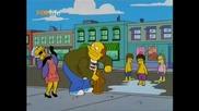(бг Аудио) Семейство Симпсън - Барт и Моухаус стават управители