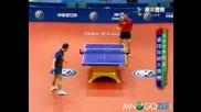 Страхотно разиграване по тенис на маса