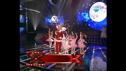 Рафи - Happy Christmas(war is over) - X Factor Bulgaria Коледен концерт