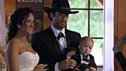 Candela canta en la boda de Sofia y Arturo