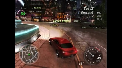 Need For Speed Underground 2 First drifts