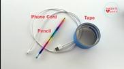 Как да навиете Usb кабела за зареждане на телефона
