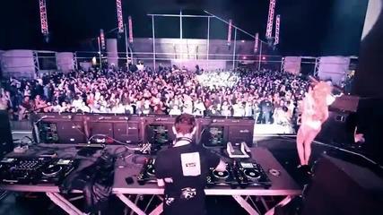 David Guetta & Glowinthedark Ft Harrison - Ain't A Party [official Music Video]