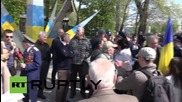 Ukraine: Police and nationalists disrupt peaceful May Day rally in Kharkov
