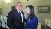 Борисов и Габриел обсъдиха българското председателство на ЕС
