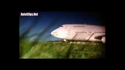 Vw Touareg тегли Boeing 747 - Пета Скорост