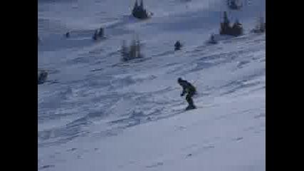 Човекът срещу гравитацията (lud na ski)