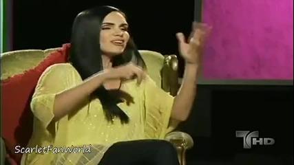 """[превод] Скарлет Ортис в """"confesiones de novela"""""""