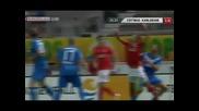 Двата гола на Димитър Рангелов срещу Карлсруе