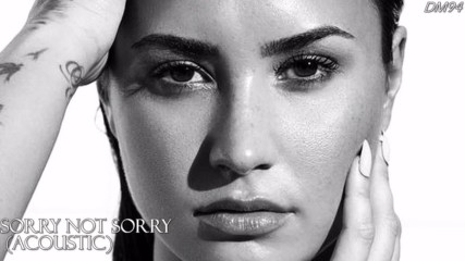 •превод• 14. Demi Lovato - Sorry not sorry /acoustic/