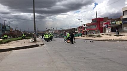 Colombia: Protesters and police clash in Bogota as national strike hit three-month mark