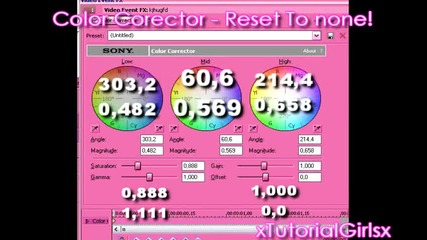 Sony Vegas 8.0 - Efect ;; 1
