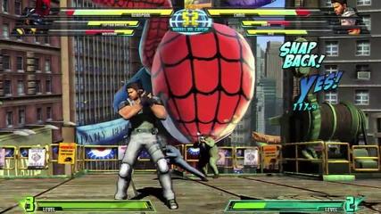 Marvel vs Capcom 3 Gameplay [ Високо качество Hq ]