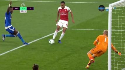 Две минути отне на Обамеянг да поведе Арсенал