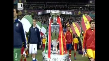 Испания Европейски шампион след категорична победа над Италия
