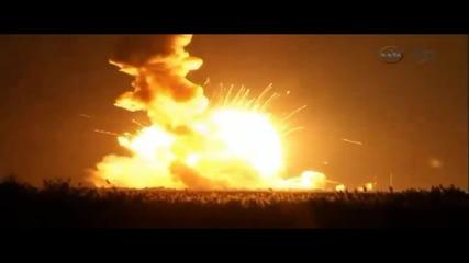 Ракета на Наса се взриви при старт