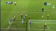 Уотфорд - Манчестър Сити 1:2, Висша лига, 20-и кръг