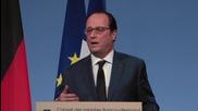 France: Hollande and Merkel express support for Ukraine deal despite Dutch 'no' vote