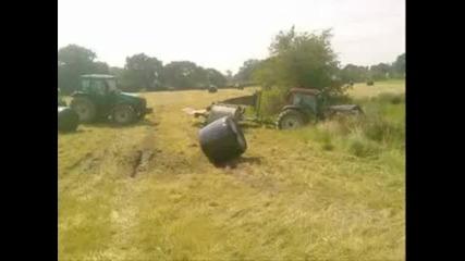 Катастрофи и инциденти със селскостопански машини