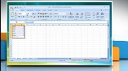 Microsoft® Excel 2007: How to change worksheet font or font size on Windows® Vista?