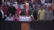 USA: Protesters crash Trump speech as pres. hopeful rallies for NY primary