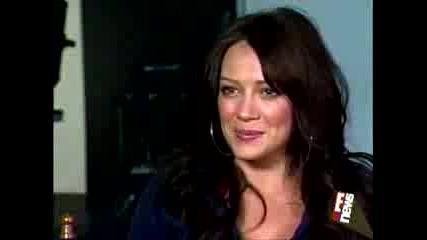 Hilary Duff On E! News 6.28.07