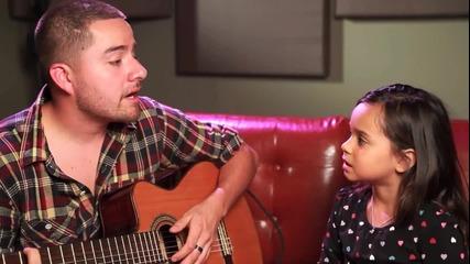 Страхотно Изпълнение   Chris Brown ft. Justin Bieber Acoustic Cover