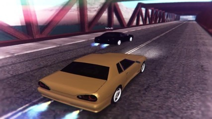 Black N Yellow Brother Twin Drifting