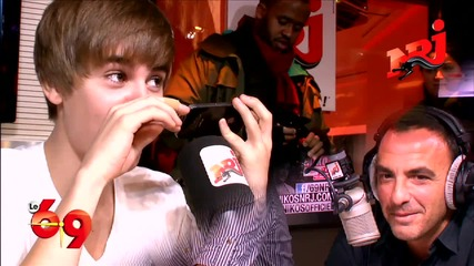 Justin Bieber calls Usher and makes a joke - Part 4 - Le 69 Nrj