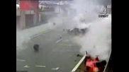 Гигантска Катастрофа Във Формула1
