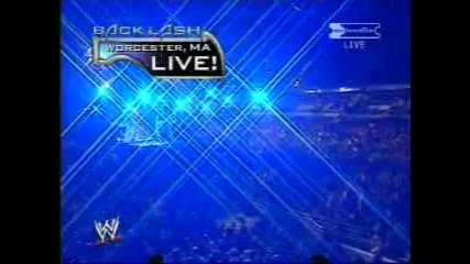 Wwe Backlash 2003 - Brock Lesnar vs John Cena