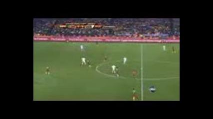 World Cup 2010 Камерун - Дания полувреме 2
