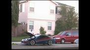 Оптична илюзия с автомобил