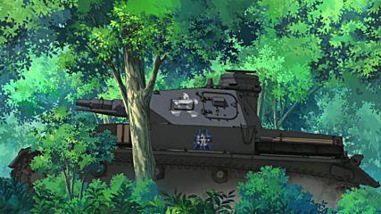 Girls Und Panzer - 2 [bg subs][720p]