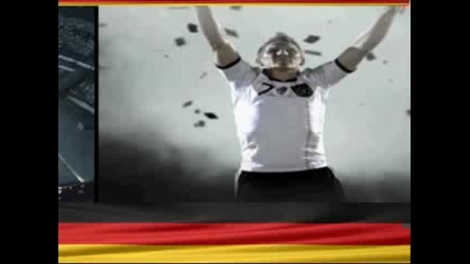 German national soccer Team - Wm 2010