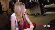 Behind the line Avril Lavigne's Inspiration