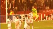 Феноменален гол на Джерард - Liverpool vs Basel 1-1