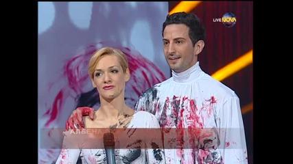 Dancing Stars - Албена Денкова и Калоян - Втори финален танц (05.06.2014)