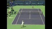 Federer Vs Johansson - Play Of The Week