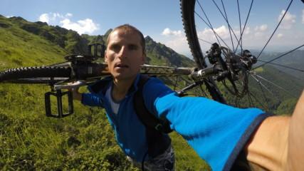Подробно 4 Част - От връх Ком до нос Емине с колело 650км 2017г