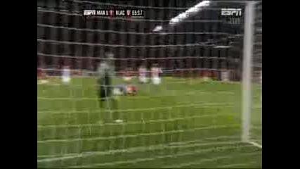 Великолепен гол на Бербатов срещу Блекбърн