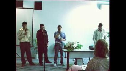 Kostadin - studensko parti 2004 - slava na Hrista
