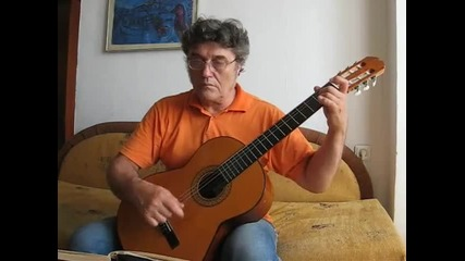Jacques Petroff-sarabande for Guitar Francis Polenc