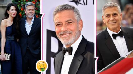 Всеки мечтае за такъв приятел! Джордж Клуни раздаде по 1 млн. долара на близки