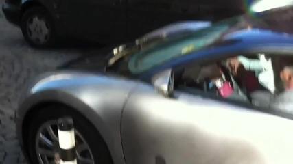 Bugatti Veyron vs. Софийски Улици